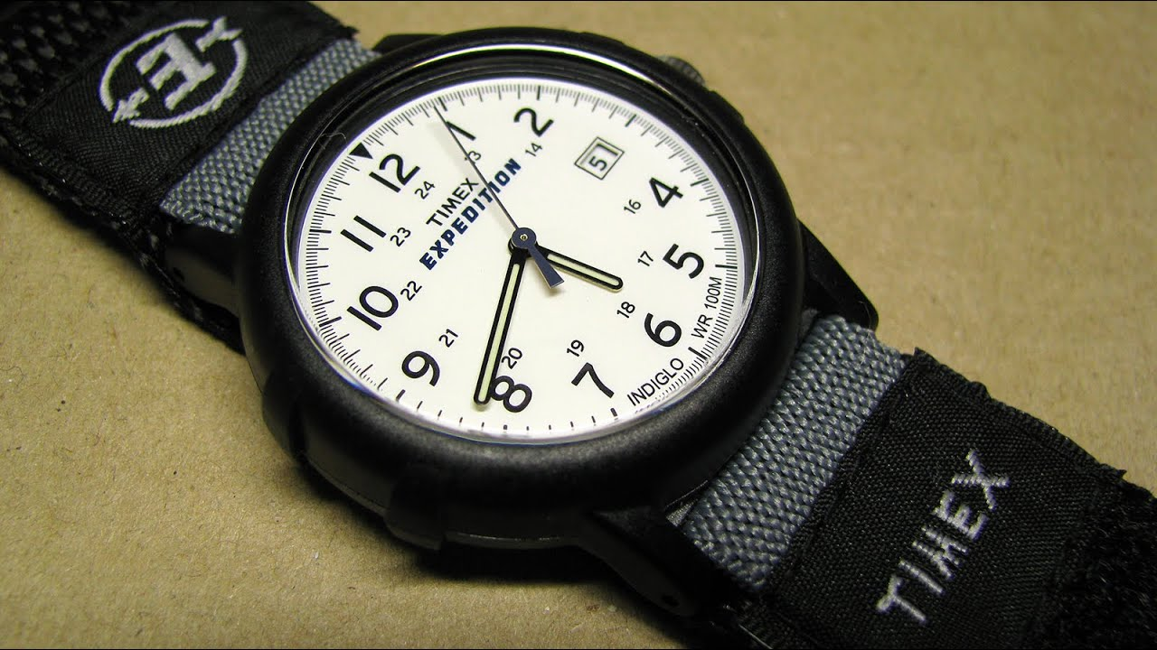 how to set date on timex indiglo watch