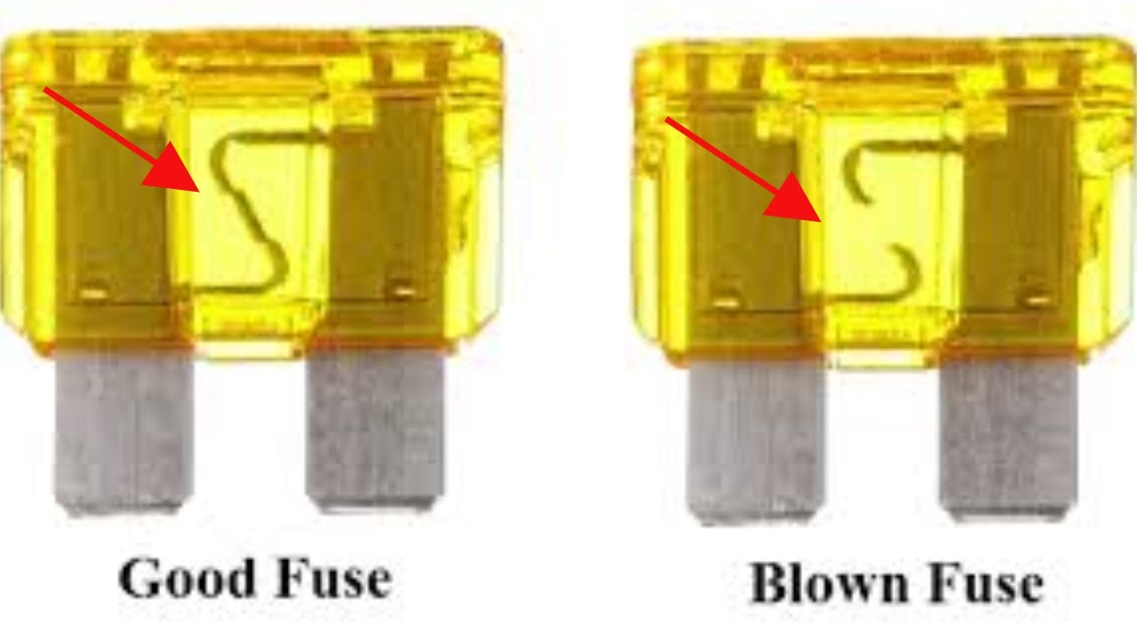 how to tell if jcase fuse is blown