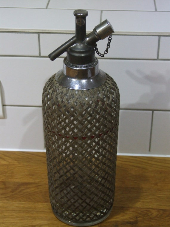 how to clean sparklets soda syphon